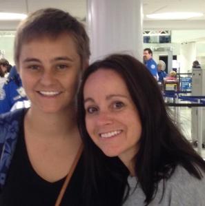Mack and Momma Bear on September 7 2014