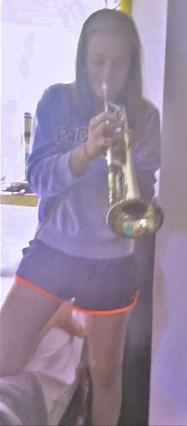 Mack on trumpet 2