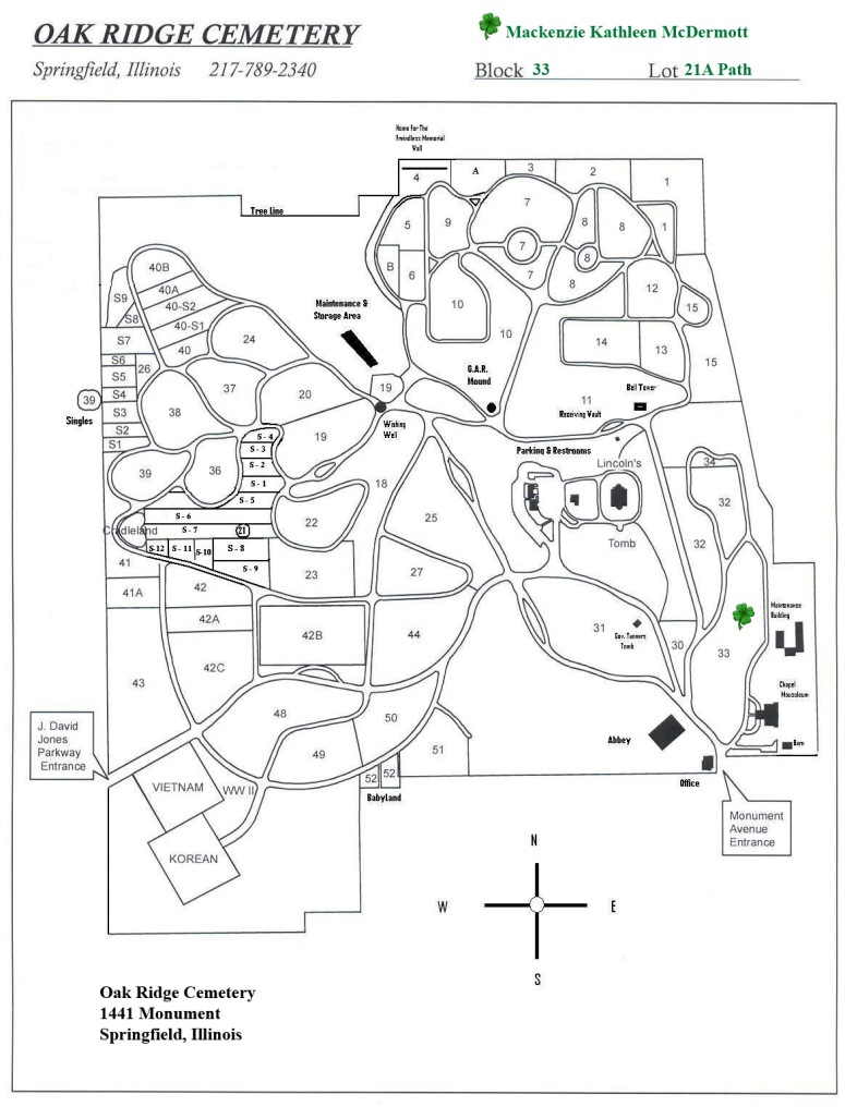 Oak Ridge Map 1